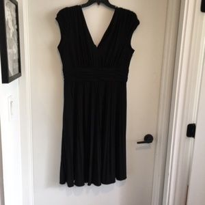 Suzi Chin for Maggy Boutique Ruched Jersey Dress
